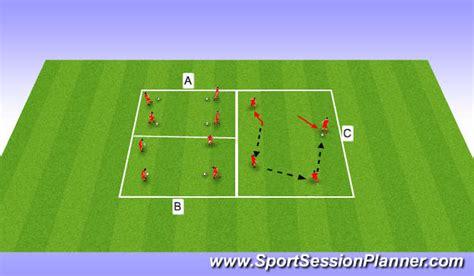 Easy Floor Plans Football Soccer Short Passing Session Technical Passing