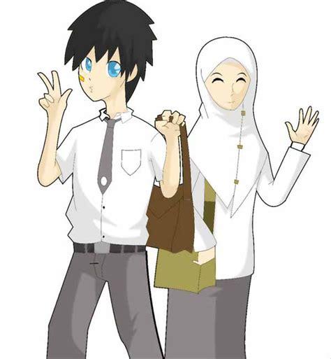 pin lukisan kartun muslim on