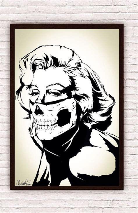 marilyn monroe skull bandana balaclava boho decor