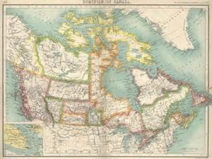 canada in 1898 map canada