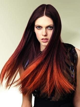 brunette and red hair pictures hombre cabello bicolor rojo naranja bella en casa