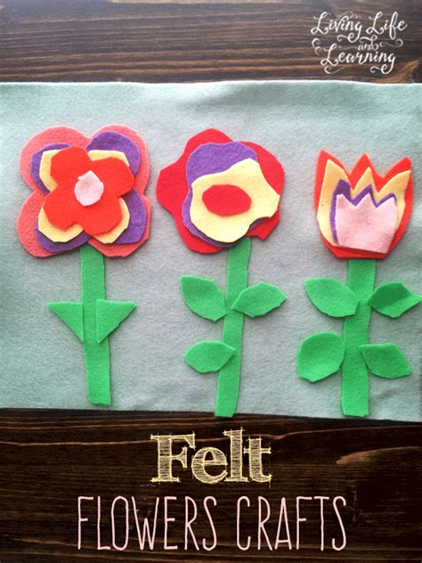 easy felt crafts for 20 flower crafts for socal field trips