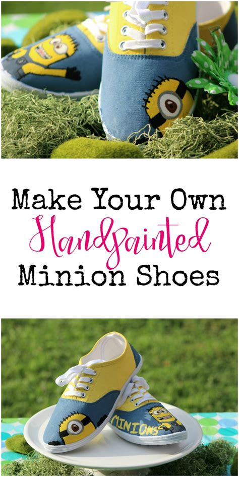diy minion shoes how to make your own despicable me minion shoes
