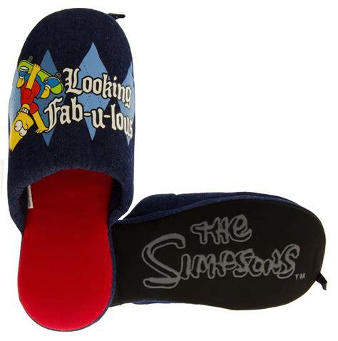 bart slippers new mens bart novelty slipper the simpsons