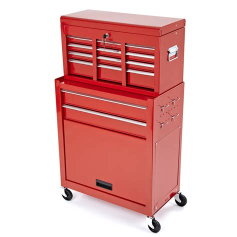 garage storage drawers uk steel roller cabinet tool chest box 2 piece rollcab