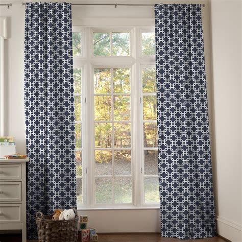 navy geometric curtains navy and yellow geometric drape panel contemporary