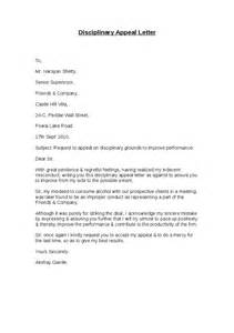 Appeal Letter Sle For Academic Misconduct Disciplinary Appeal Letter Hashdoc