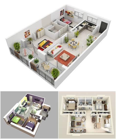 home design 3d 1 3 1 mod apk 10 awesome two bedroom apartment 3d floor plans amazing
