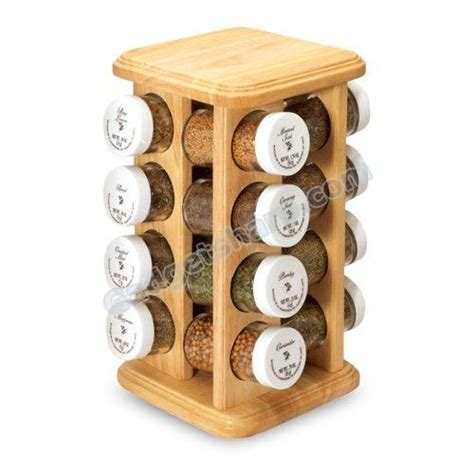 Olde Thompson 16 Jar Spice Rack 13 Cool Spice Rack Designs Help Spice Your Kitchen