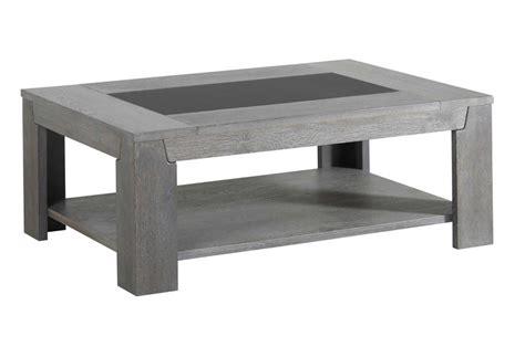 Table Basse En Bois Ch 234 Ne Gris Et Verre Trendymobilier Com