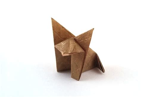 Origami Database - fox montroll gilad s origami page