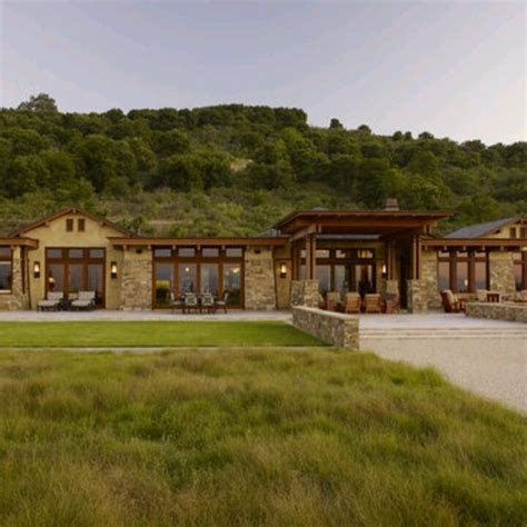 modern rustic ranch house ideas rustic and