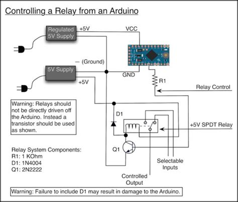 relay wiring arduino shield relay free engine image for