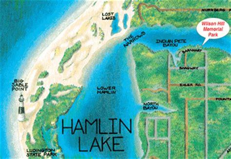 hamlin lake boat launch hamlin lake wilson hill park upper hamlin lake