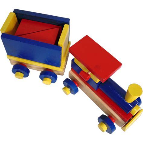 Mainan Edukasi Kereta Geometri by Jual Mainan Kayu Edukasi Kereta Balok Geometri Baru