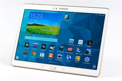 Tablet Samsung S5 vid 233 o test galaxy tab s la meilleure des tablettes 10 quot sous android