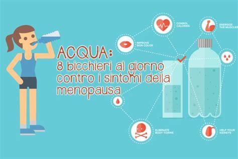 bicchieri d acqua al giorno 8 bicchieri d acqua al giorno contro i sintomi della