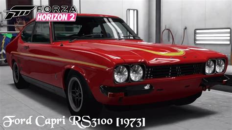 ford rs3100 forza horizon 2 ford rs3100 1973