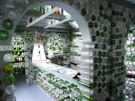 bottle house bottle houses of pei upcycle that