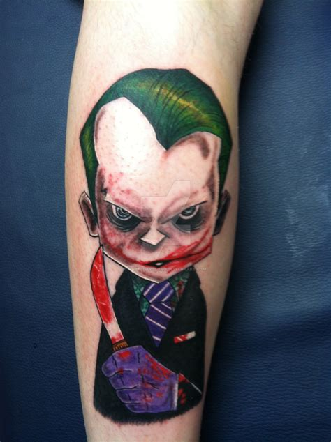 joker tattoo by threedayslong on deviantart
