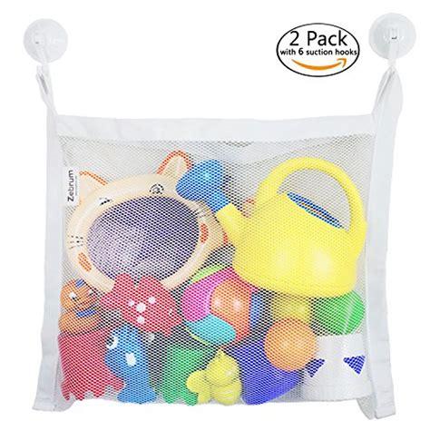 Product Shower Set Bag bath organizer 4 pockets strong storage mesh bag set hanging bathroom bag with suction