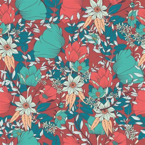 flower pattern freepik coloured flowers pattern design vector free download
