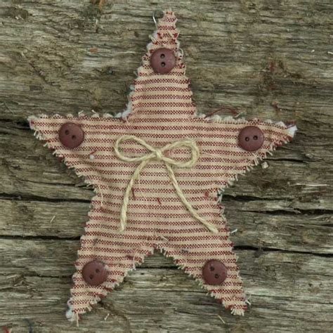 primitive homespun christmas ornaments primitive