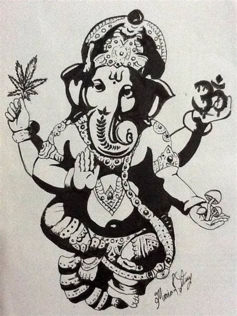 ganesh tattoo template pinterest the world s catalog of ideas