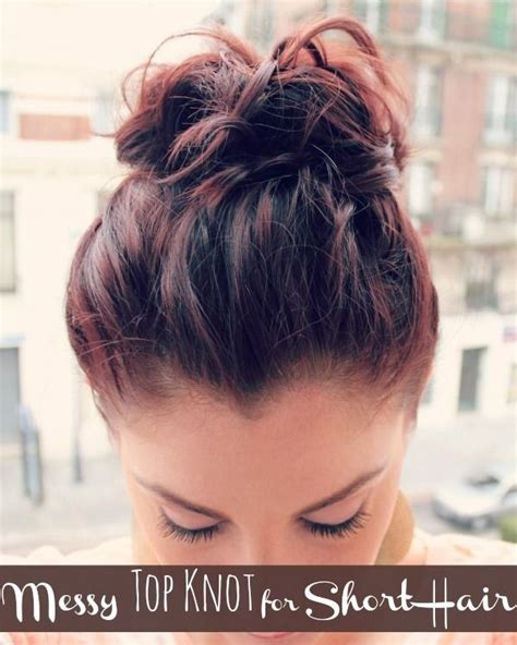 hair in a bun with short hair for black women 18 pretty updos for short hair clever tricks with a