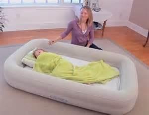 Bed inflatable baby child toddler air beds intex mattress kidz ebay