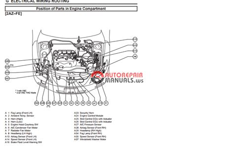 auto repair manuals toyota camry 2007 ewd electrical