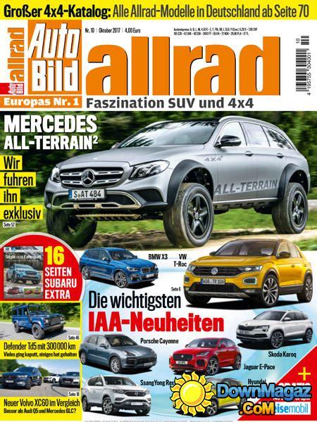 Auto Bild Allrad 09 2015 by Auto Bild Allrad 10 2017 187 Download Pdf Magazines