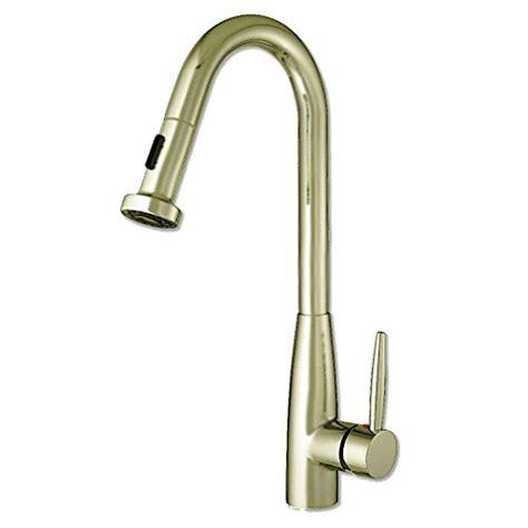 tracier gooseneck single hole kitchen faucet with pull out jem collection single hole faucet gooseneck