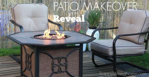 patio makeover reveal room for conversation