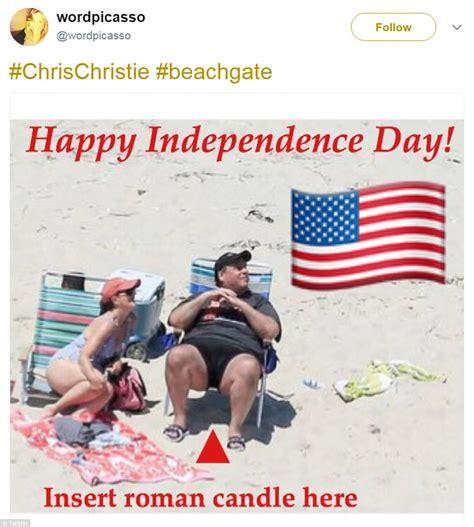 Beach Meme - chris christie is roasted in hilarious beachgate memes