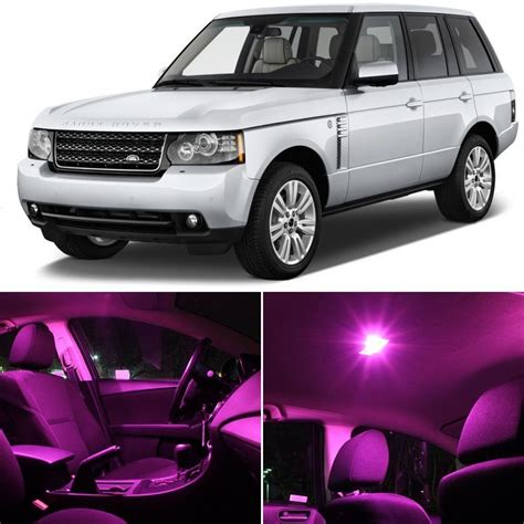 range rover pink interior 14x pink smd led lights interior package kits for land