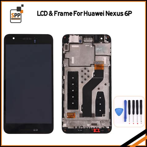 Lcd Touchscreen Smartfren Andromax R2 Original 100 100 original lcd for huawei nexus 6p lcd display touch screen digitizer assembly with