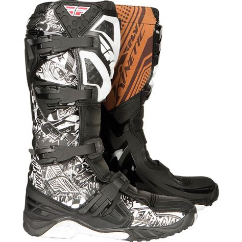 fly motocross boots fly racing 2011 kinetic victory motocross boots boots