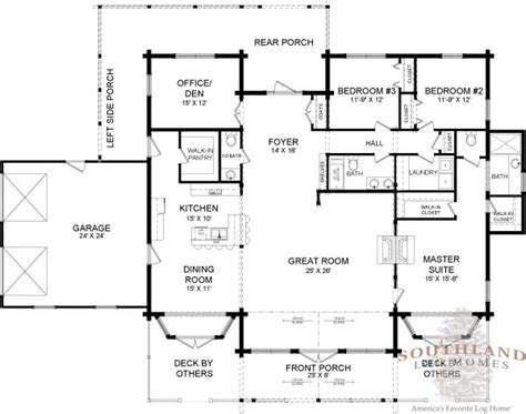 southland floor plan fairfax log home plan southland log homes wish the