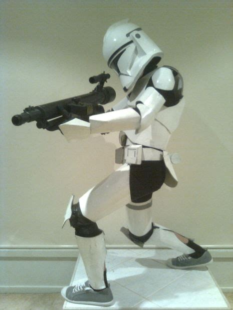 How To Make A Clone Trooper Helmet Out Of Paper - how to make a child s clone trooper costume from cardboard
