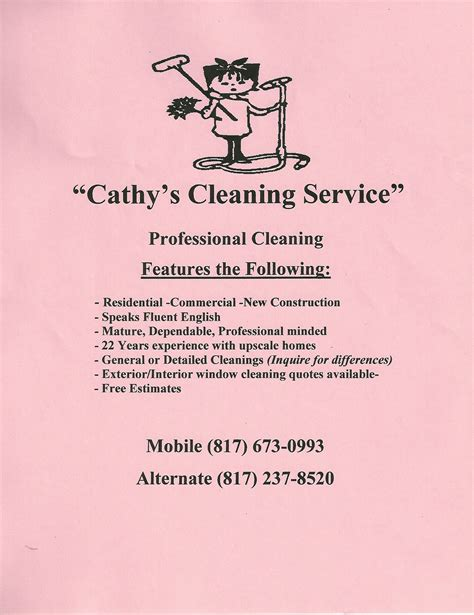 cleaning services advertising templates house cleaning services creative marketing materials for