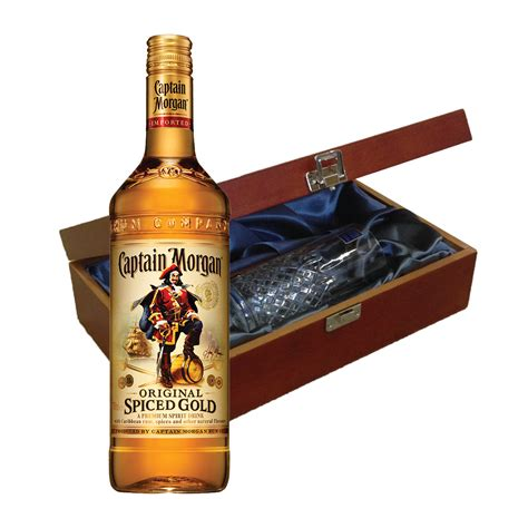 morgans spiced gift set captain rum gifts