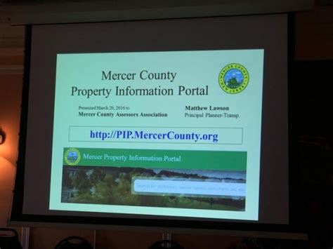 Mercer County Nj Property Records Mercer County Introduces Property Information Portal