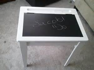 practical diy chalkboard desk