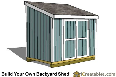 Lean To Storage Shed Plans by Lean To Shed Plans Easy To Build Diy Shed Designs