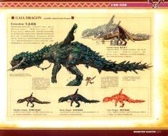 libro monsters a bestiary of mh illustrations plesioth monoblos and tigrex arts hunters monster hunter