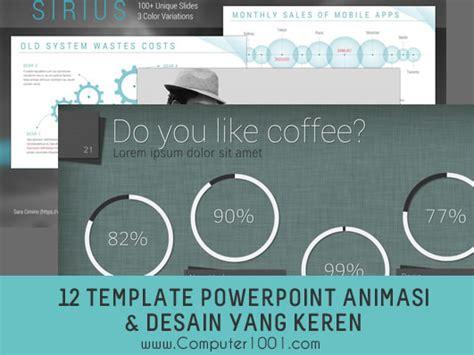 desain kreatif powerpoint download 12 template powerpoint dengan efek animasi dan