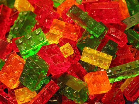 Lego Gummy Tutorial | how to make lego gummy candies cooking handimania