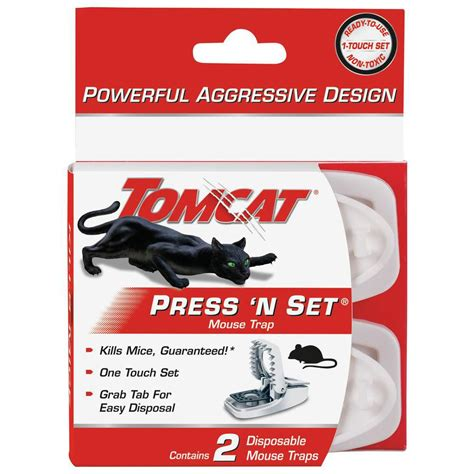 mouse benching mouse trap tomcat tomcat press n set mouse trap 0321110 the home depot