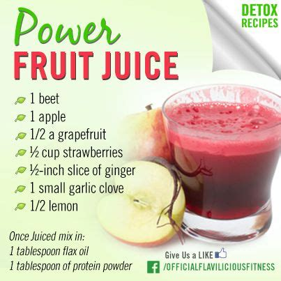 Rely Detox Drink Chilled by Tasty Thursday Power Fruit Juice Detox Weight Loss